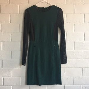 Kenneth Cole Green and Black Dress